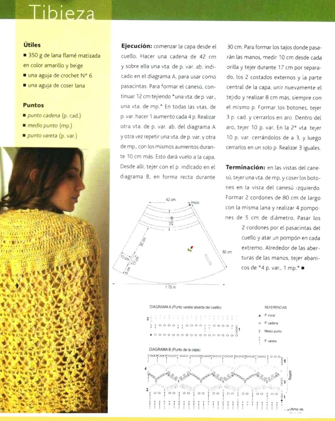 Hermosa Patrón De Suspensión De Capa Crochet Galería - Coser Ideas ...