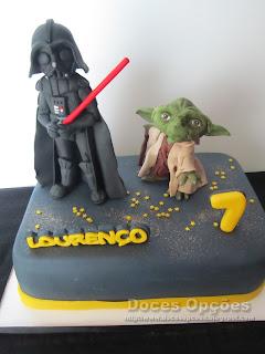 star wars cake birthday party