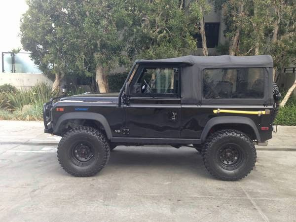 1995 land rover defender 90 fully loaded auto restorationice. Black Bedroom Furniture Sets. Home Design Ideas