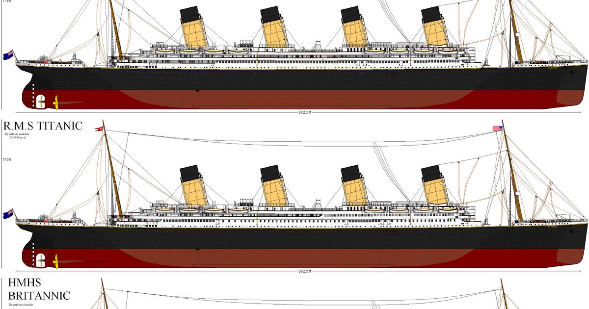 Olympic y britannic los gemelos del titanic una breve - Construccion del titanic ...