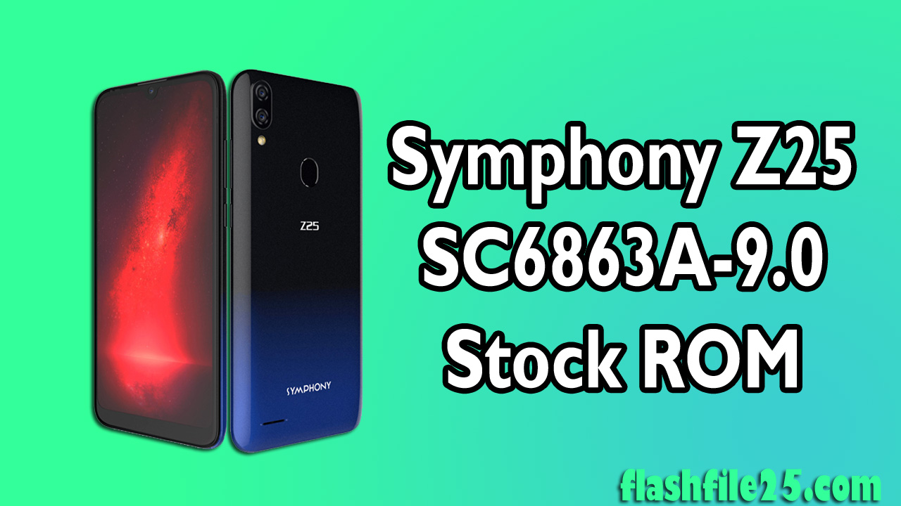 Symphony Z25 Firmware File currently comes in a zip package and we are publishing below this firmware all details. you first check the details before download the firmware