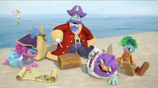 Abby Cadabby, Blögg, Gonnigan, Abby's Flying Fairy School Treasure Hunt, Captain Hook, Sesame Street Episode 4403 The Flower Show season 44
