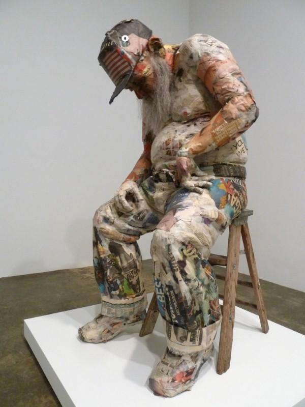 Скульптуры из мусора Уилла Курца 7