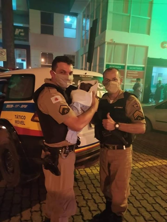 PM localiza recém-nascida que foi retirada da mãe na maternidade do hospital em Manhuaçu e efetua a prisão da autora