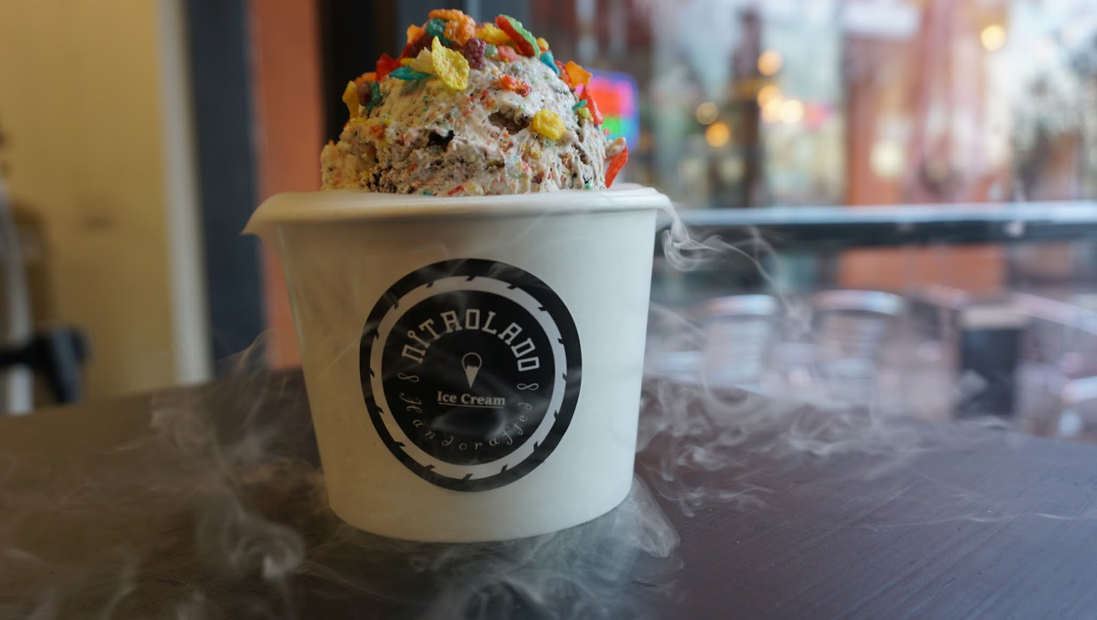 The New Fruity Pebbles Ice Cream Flavor From Nitrolado Might Be Better Than Creamistry