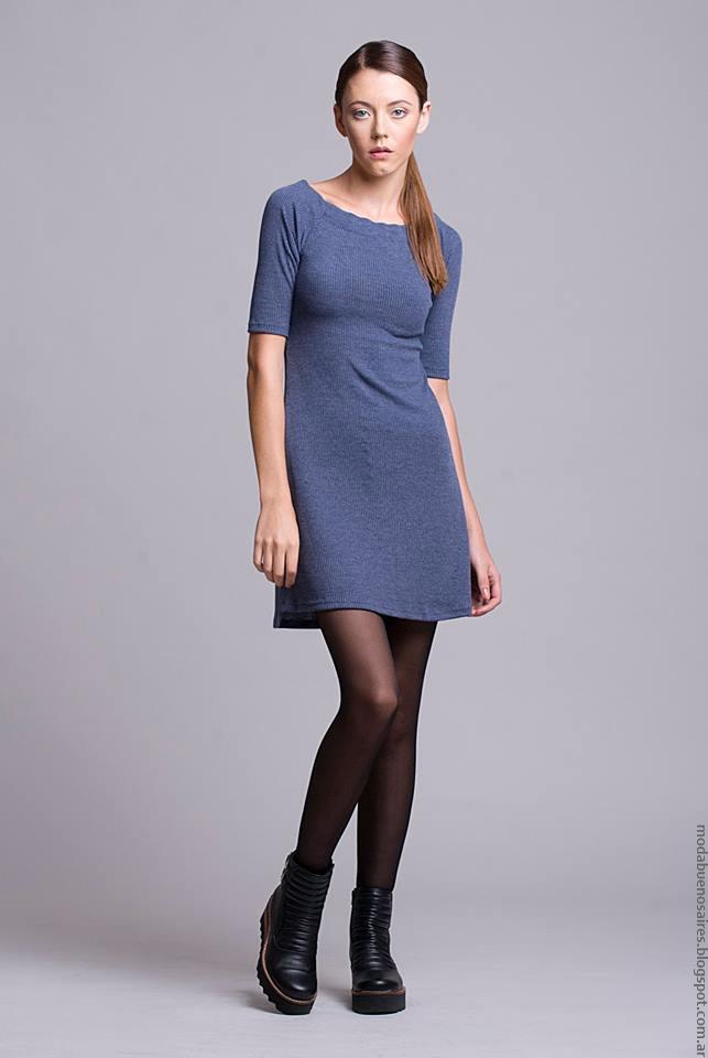 Vestidos invierno 2016 ropa de moda Argentina invierno 2016.