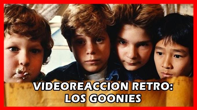 VIDEOREACCIÓN RETRO del trailer original de Los Goonies