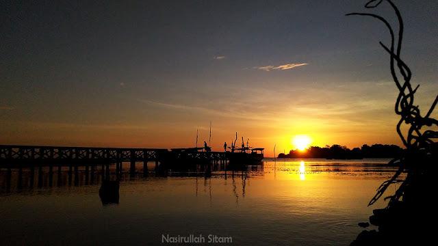 Sunset di Dermag Mrican, Karimunjawa