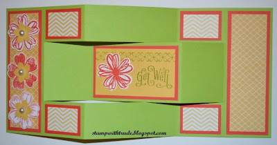 http://stampwithtrude.blogspot.com Stampin' Up! Get Well card by Trude Thoman Flowershop stamp set