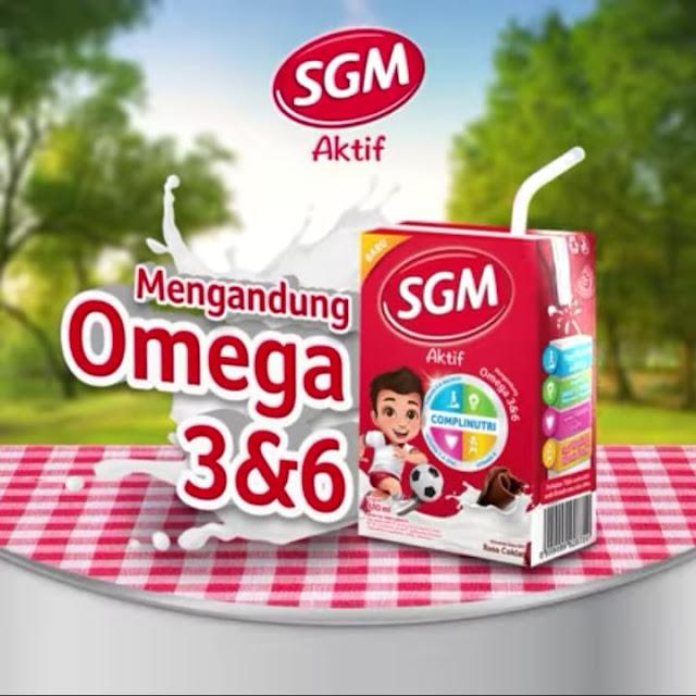 Bekali Si Kecil Dengan Susu SGM Aktif Yang Mengandung Omega 3 Dan 6 Untuk Temani Si Kecil Beraktivitas Di Luar Rumah