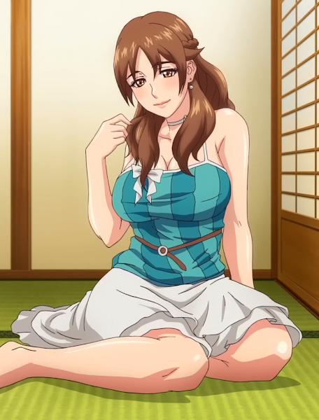 Miboujin Nikki: Akogare no Ano Hito to Hitotsu Yane no Shita