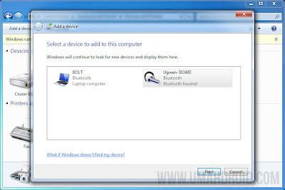 Konek Speaker Bluetooth Windows 7