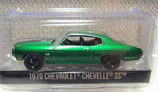 GreenLight Chevrolet Chevelle ss Green Machine