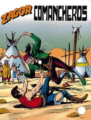 Le storie prequel dell'incontro tra Tex e Zagor
