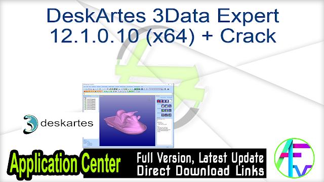 DeskArtes 3Data Expert 12.1.0.10 (x64) + Crack
