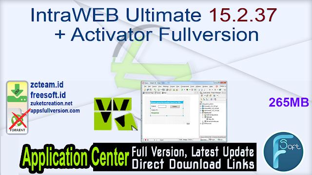 IntraWEB Ultimate 15.2.37 + Activator Fullversion
