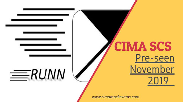 CIMA SCS November 2019 Pre-seen released - Strategic case study