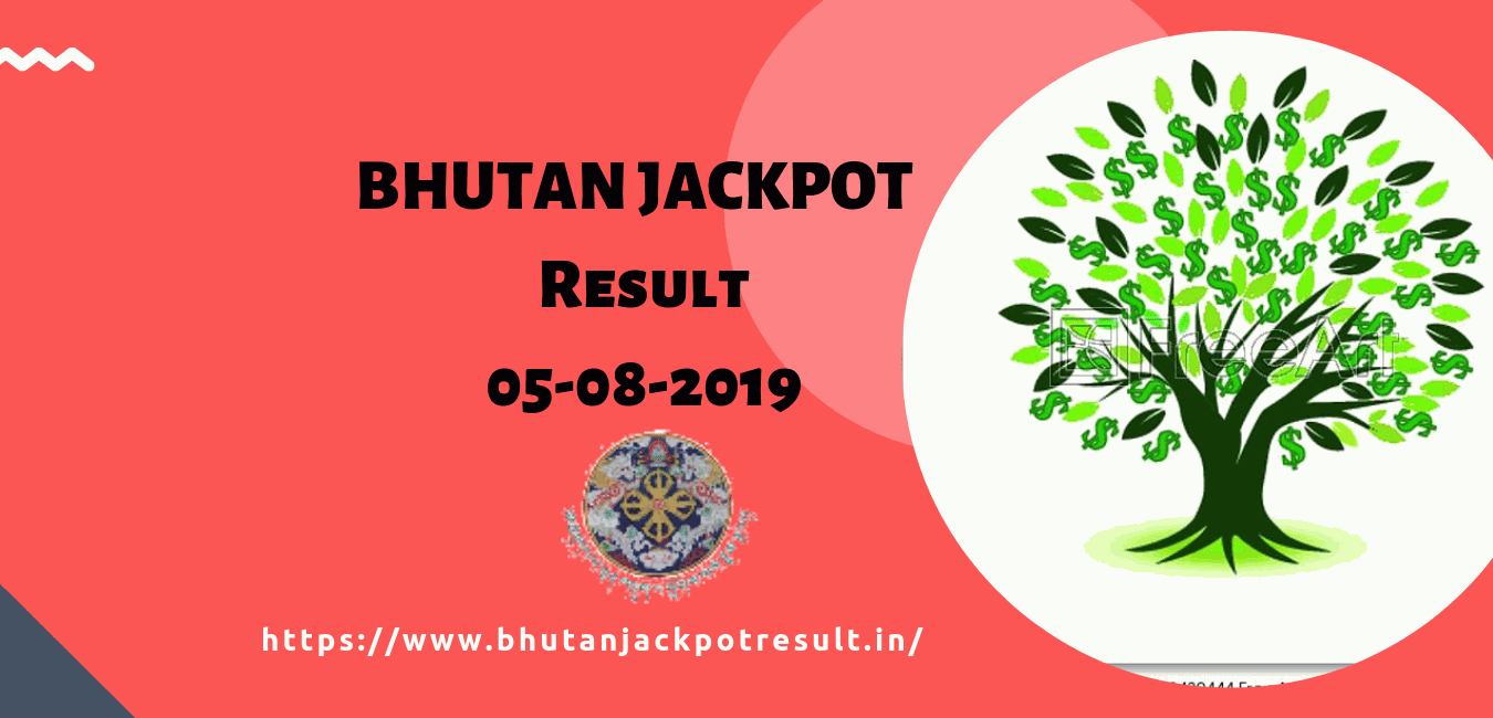 Bhutan Jackpot: Bhutan Jackpot result today 05-08-2019:Lucky winner