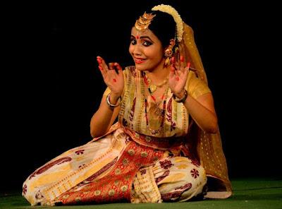 Sattriya by Anwesha Mahanta . Photo - Ranjith SKM
