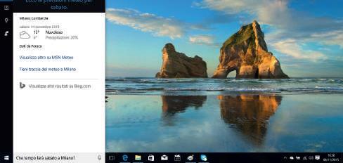 Cosa può fare Cortana Windows 10 vivavoce