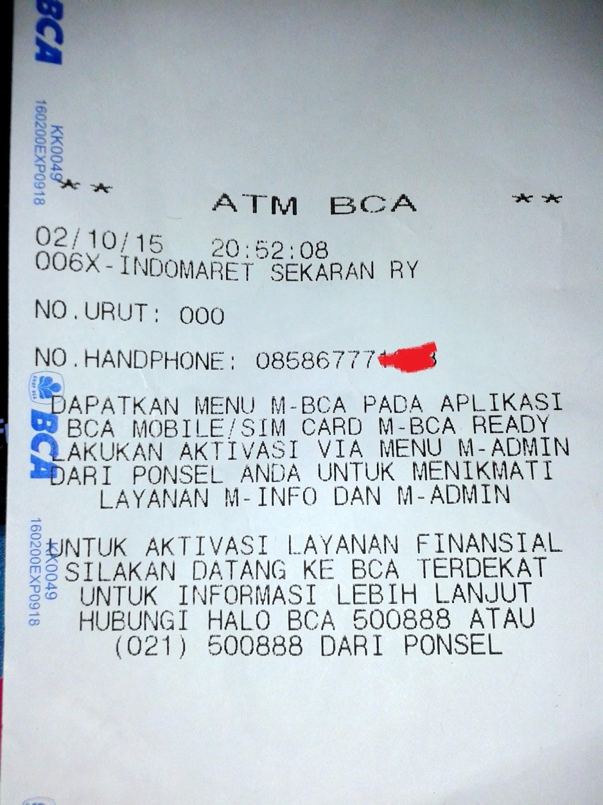 Pengalaman Daftar Mobile Banking Bca M Bca Https