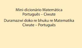Ensino bilíngue Mini-dicionário Matemática Português – Ciwute em pdf