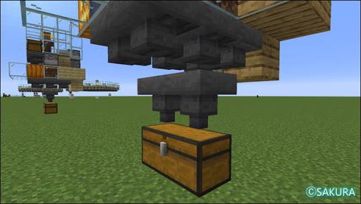 Minecraft 自動小麦畑兼取引所のジャガイモやニンジンを回収する改造