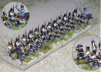 2nd place: Hungarians, by Wee Wars - wins £10 Pendraken credit, and a Village Set from Total Battle Miniatures!
