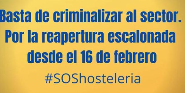 """El PP pide en un vídeo la reapertura escalonada de la hostelería y PSPV y Compromís le llaman """"irresponsable"""""""