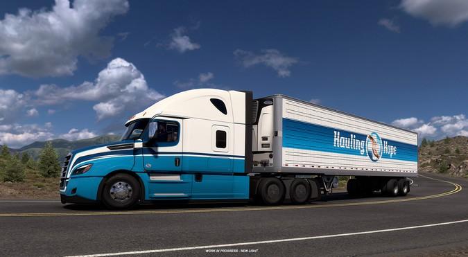 American Truck Simulator e Euro Truck Simulator 2 recebem desafio de transporte de vacinas