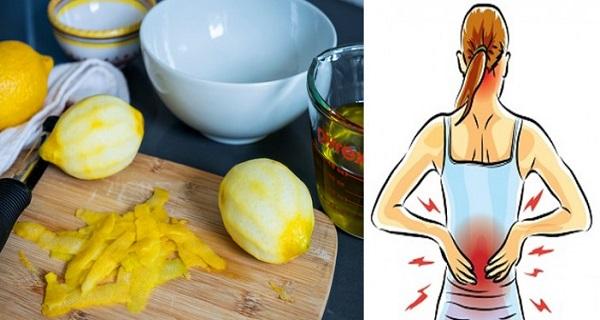 Ternyata Hanya Dengan Menggunakan Kulit Lemon, Kamu Bisa Menyembuhkan Nyeri Pinggang dan Sendi Lho, Begini Cara Penggunaannya...