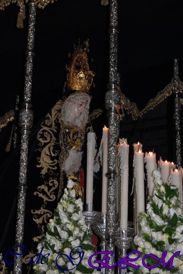 7 De Octubre, Fecha para la procesión de la Virgen del Amor y trabajo por su barrio