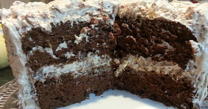 Hershey Bar German Chocolate Cake