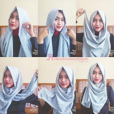 Tutorial Style Hijab Pashmina Simple Model Terbaru