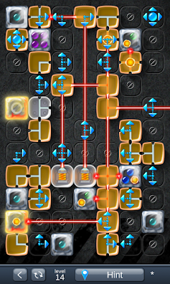 Solution for Laser Box - Puzzle (Extra) Level 14