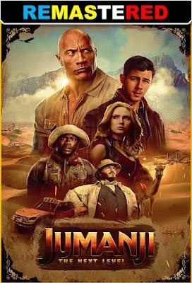 Jumanji The Next Level 2019 DVD R1 NTSC Latino RMZ