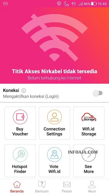 Aplikasi Wifi.id Go