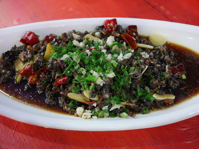 snail dish in Xiapu, China