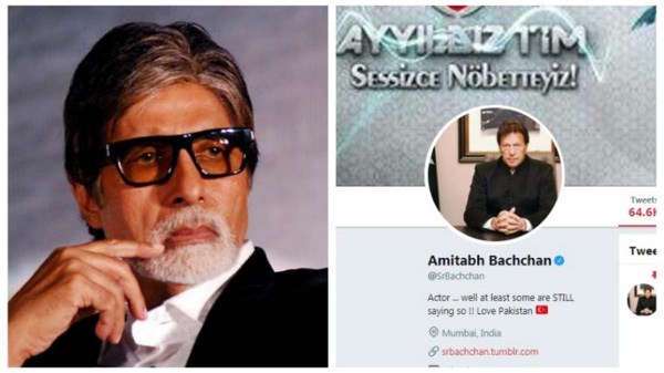 Amitabh Bachchan's Twitter account hacked, tweets slam India, Mumbai, News, Twitter, Amitabh Bachchan, Cinema, Entertainment, Religion, Pakistan, Imran Khan, Cine Actor, National