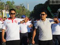 Semarakkan HUT Ke-9 Solo CFD, Dandim 0735/Surakarta Ikuti Senam Bersama