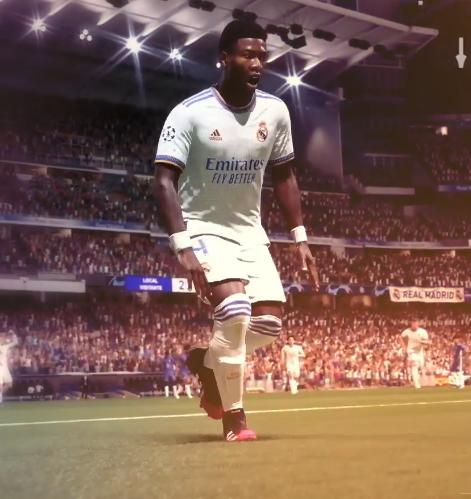 David Alaba Real Madryt FIFA 22