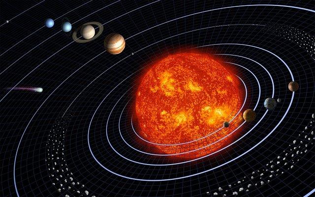 alam semesta bukti adanya
