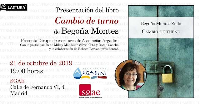 Presentación poemario Begoña Montes