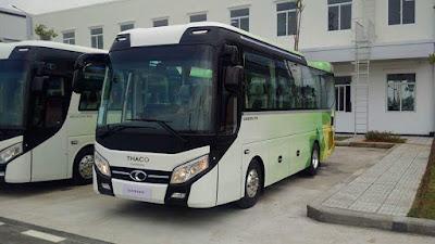 Giá bán xe khách 47 chỗ ngồi tại Hải Phòng hỗ trợ trả góp