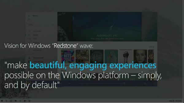 مايكروسوفت تكشف عن واجهة ويندوز 10 المنتظرة
