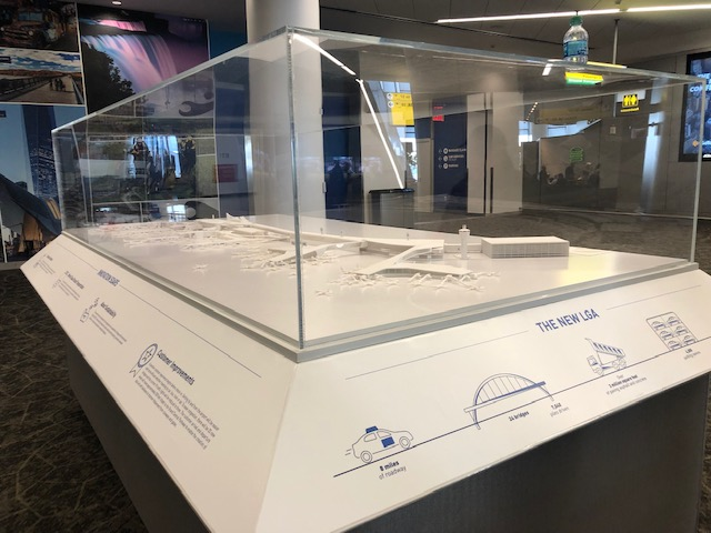 Working at LaGuardia's New Terminal