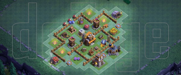Builder Base th4-5