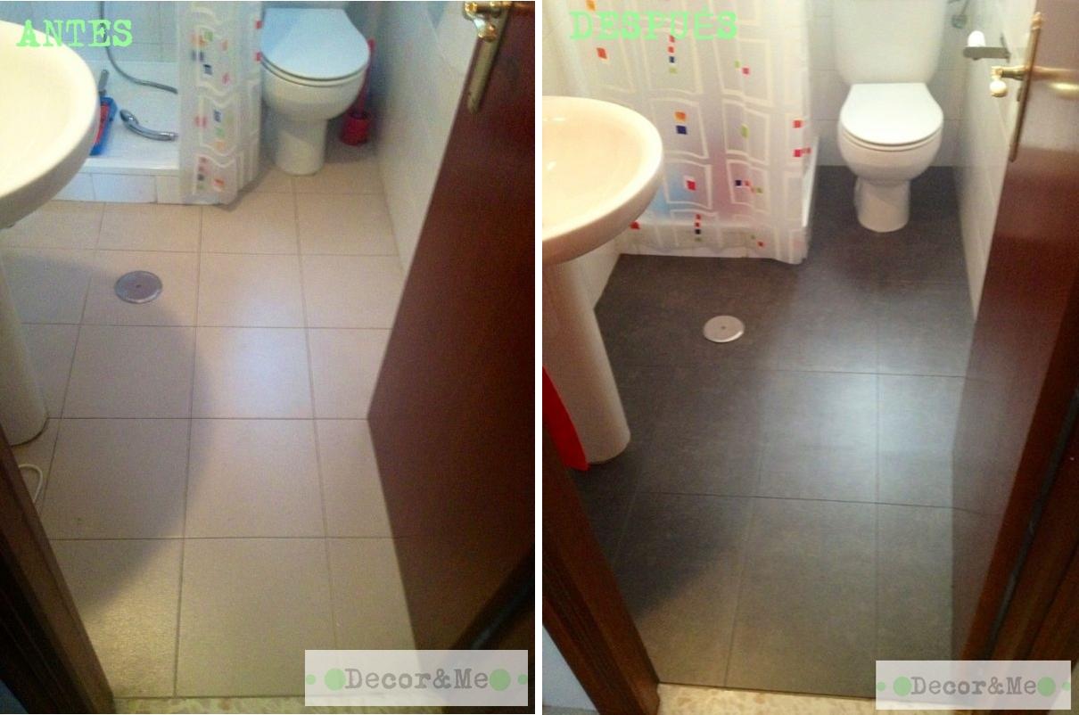 Decor me renovando el ba o sin obras los revestimientos for Revestimientos vinilicos para azulejos