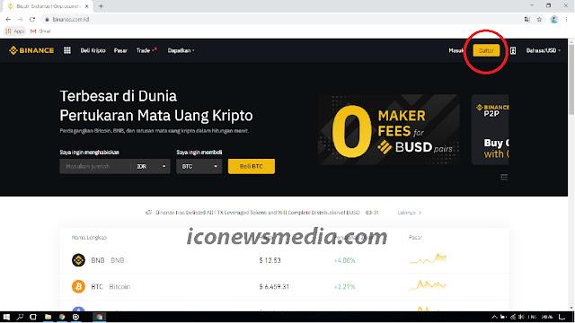 Cara membuat akun binance untuk trading bitcoin dan altcoin iconewsmedia.com