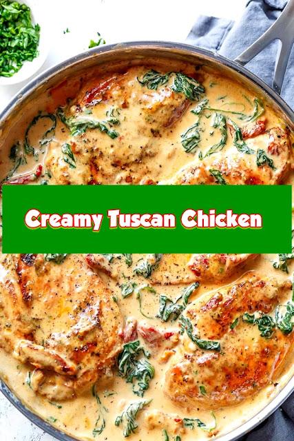 #Creamy #Tuscan #Chicken
